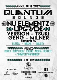 Quantum Sounds Present Nu Elementz + Upg at Basement 45 in Bristol