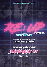 RE:UP - THE REBIRTH at Basement 45 in Bristol