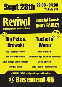 Revival at Basement 45 in Bristol