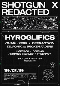 Shotgun x Redacted - Christmas Special at Basement 45 in Bristol