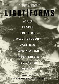 The Library x Sweet Dreams: Lightforms at Basement 45 in Bristol