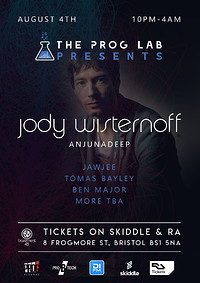 The Prog Lab Presents Jody Wisternoff  at Basement 45 in Bristol