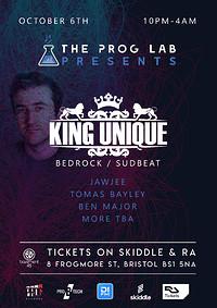 The Prog Lab Presents King Unique at Basement 45 in Bristol