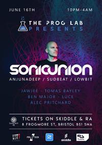 The Prog Lab Presents Sonic Union  at Basement 45 in Bristol