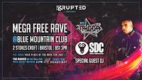 BLUEMOUNTAIN MEGA FREE PARTY w/ MC TRIGGA - SDE at Blue Mountain in Bristol