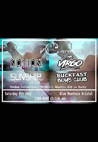 CH01: Mr Virgo, Notion, Sunship+Buckfast Boys Club at Blue Mountain in Bristol