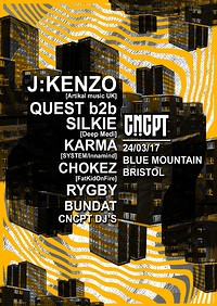 CNCPT Presents  at Blue Mountain in Bristol