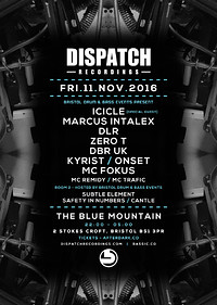 Dispatch Recordings Label Night at Blue Mountain in Bristol
