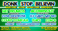 Donk Stop Believin! at Blue Mountain in Bristol