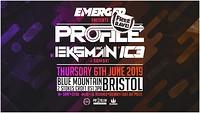 Emerged: profile w/ eksman & ic3 (free rave)  at Blue Mountain in Bristol