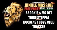 Jungle Massive Free Party: Blue Mountain at Blue Mountain in Bristol