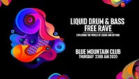 Liquid DNB Free Rave at Blue Mountain in Bristol