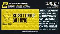 Membrain Festival Launch Bristol: Secret Lineup  at Blue Mountain in Bristol