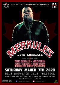 Merkules - Live Showcase (plus support) at Blue Mountain in Bristol