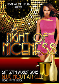 Night of Niceness at Blue Mountain in Bristol