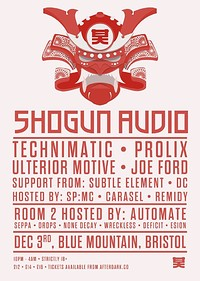 Shogun Audio at Blue Mountain in Bristol