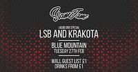 SlamJam 020: LSB & Krakota at Blue Mountain in Bristol
