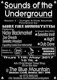 Sound of the Underground at Blue Mountain in Bristol