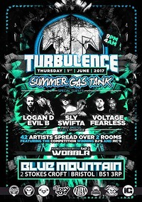 Turbulence LOGAN D EVIL B VOLTAGE FEARLESS SLY  at Blue Mountain in Bristol