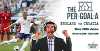 The Per-GOAL-a! Euro 2020: England v Croatia at Breaking Bread in Bristol