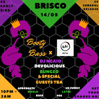 Booty Bass X Kiki Bristol at BRISCO in Bristol
