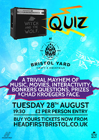 QUIZ at Bristol Yard at Bristol Yard in Bristol