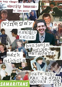 A very Vinegar Charity Bonanza  at Cafe Kino in Bristol