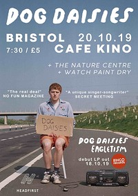 Family Tea Records presents Dog Daisies at Cafe Kino in Bristol