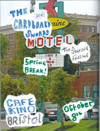 The Cardboard Swords / The Sinking Feeling at Cafe Kino in Bristol