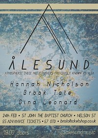 Ålesund+Hannah Nicholson+Brook Tate+Gina Leonard at Church of St John the Baptist in Bristol