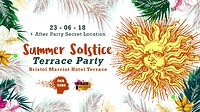 Der Liebe Presents: Summer  Solstice Terrace  at City Centre Marriott Hotel in Bristol