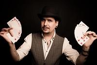 Magic Malka, conjurer extaordinaire! at Cloak and Dagger, The in Bristol