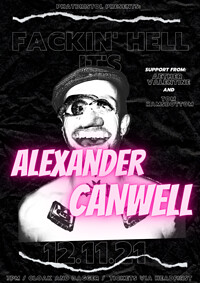 PHAT Bristol : Alexander Canwell + support at Cloak and Dagger, The in Bristol