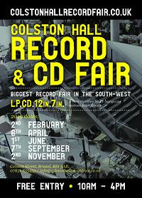 Colston Hall Record Fair at Colston Hall in Bristol