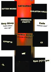 Satsumas Terrace Party w/ Amy Alsop at Colston Hall in Bristol