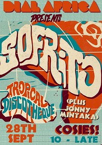 Dial Africa pres.A Tropical Discotheque w/ Sofrito at Cosies in Bristol