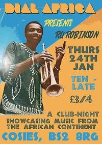 Dial Africa pres. Ru Robinson at Cosies in Bristol