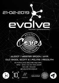 Evolve's 1st Birthday [Techno | Experimental] at Cosies in Bristol