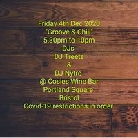 Groove & Chill at Cosies in Bristol
