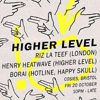 Higher Level feat. Riz La Teef at Cosies in Bristol