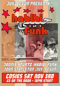 Jus' Begun presents Habibi Funk at Cosies in Bristol