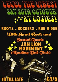 Level the Vibes 07 with Jah Lion Movement at Cosies in Bristol