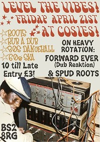 Level The Vibes Part 4 with guest Forward Ever at Cosies in Bristol