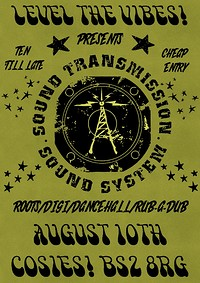 Level the Vibes Pres. Sound Transmission Records at Cosies in Bristol
