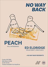 No Way Back presents: Peach [NTS/Intergraded] at Cosies in Bristol