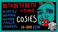 Prjkts ☰ Bethbethbeth + Tino at Cosies in Bristol