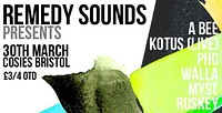 Remedy Sounds  at Cosies in Bristol