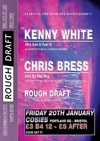 "Rough Draft w/ KENNY WHITE & Chris ""Bad Boy"" Bress at Cosies in Bristol"