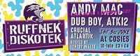 Ruffnek Diskotek Carnival Special ft Smu at Cosies in Bristol