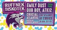 Ruffnek Diskotek ft Emily Dust at Cosies in Bristol